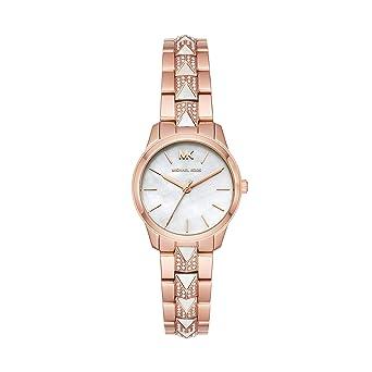 Amazon.com: Michael Kors Runway Mercer Reloj de cuarzo para ...