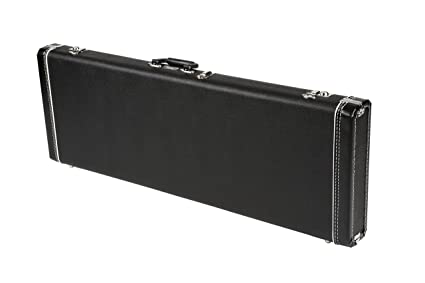 Fender Standard Black Case for Strat/Tele Right and Left Hand Guitars