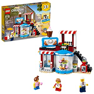 LEGO Creator 3in1 Modular Sweet Surprises 31077 Building Kit (396 Piece)