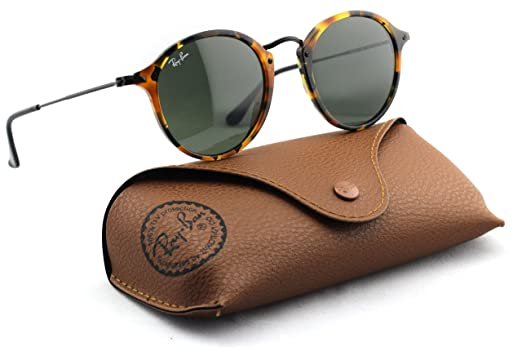 560e440e331 Image Unavailable. Image not available for. Color  Ray-Ban RB2447 1157 Round  Fleck Sunglasses Tortoise ...