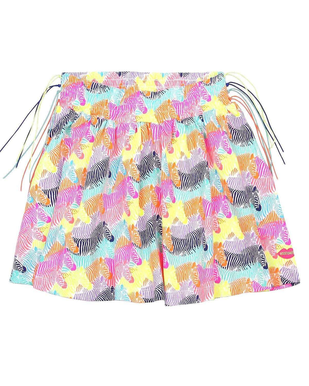 Kidz Art Girls Skirt in Zebra Print Sizes 6-12
