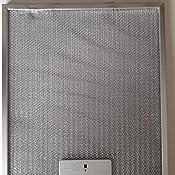 DREHFLEX AK109-Filtro metálico para campana extractora (305 x 267 ...