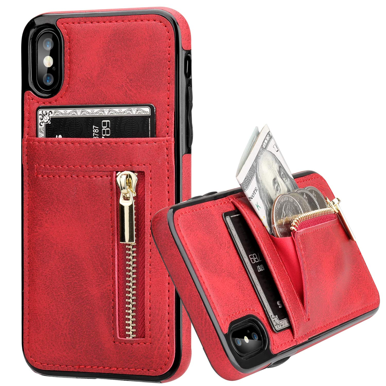 iphone xs case purse