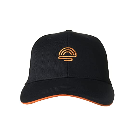 825304d9a8299 Amazon.com  sunpirit Embroidered Baseball Cap for Men and Women Adjustable  Buckle Strap (Black)  Clothing
