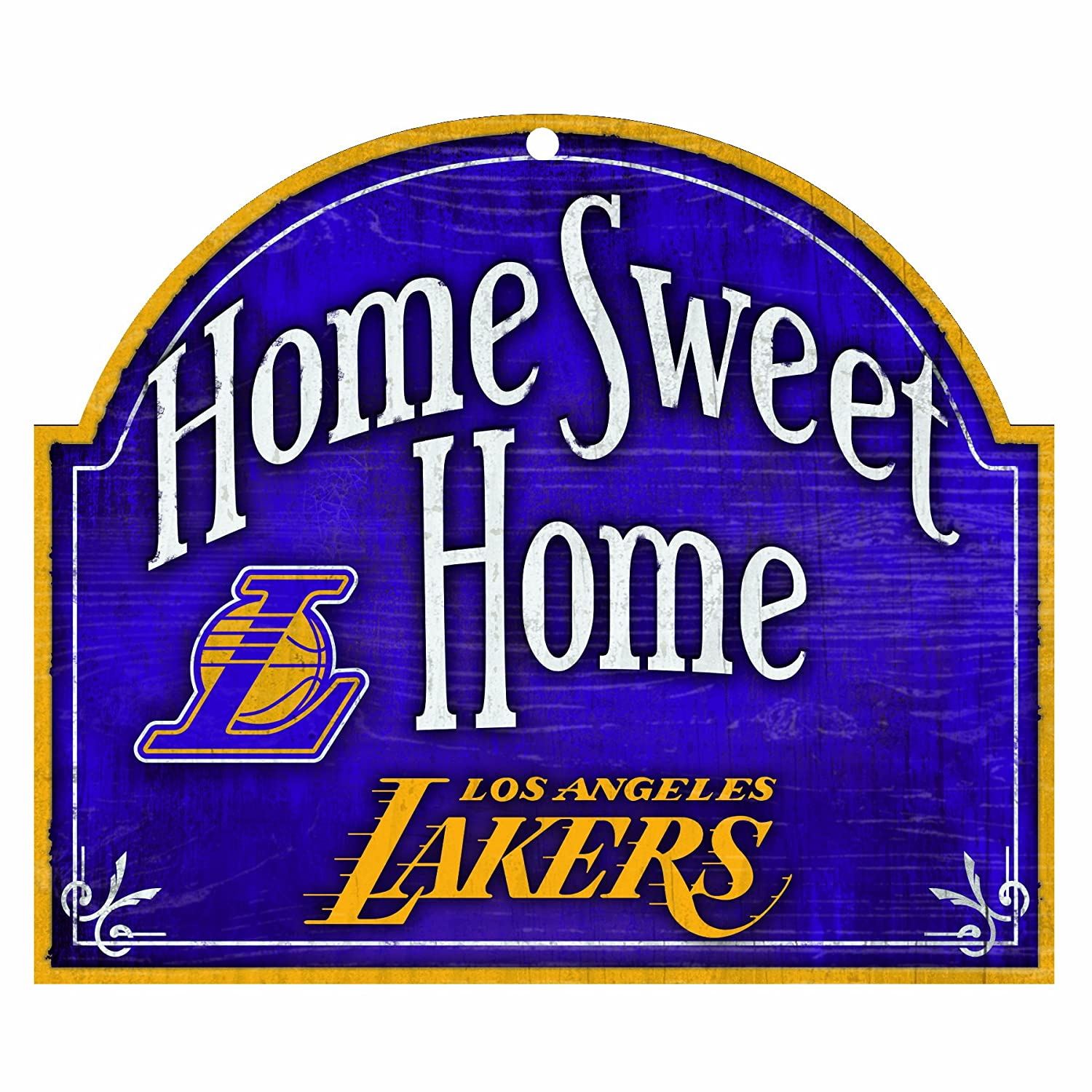 Wincraft NBA Los Angeles Lakers 10-by-11 Cartel de Madera ...