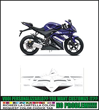 Kit Adesivi Decal Stikers Yamaha Yzf R125 2011 Ability To