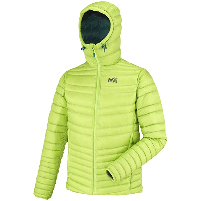 Millet – Giacca piumino Dual Heel Lift Hoodie Acid Green Uomo – Uomo –  Verde 0ac26bbc7b0