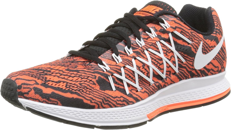 Nike Air Zoom Pegasus 32 Print Zapatillas, Hombre, Naranja/Blanco ...