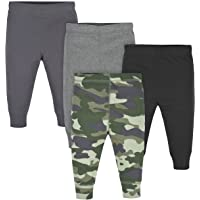 Gerber Baby Girls 4-Pack Active Pants