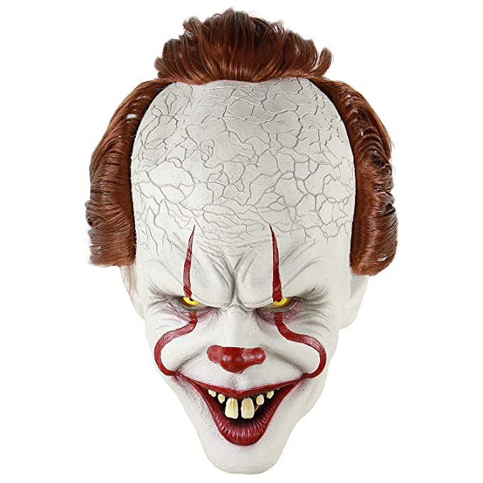 Rubies IT Movie Chapter 2 Adult Pennywise Vacuform Mask Adult Costume