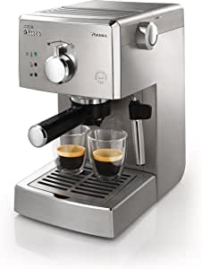 Saeco HD8327/47 Poemia Top Espresso Machine, Stainless Steel