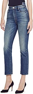 product image for The Dazzler Shift Crop - High-Rise Cropped Straight Leg Jeans in Sin and Suffer