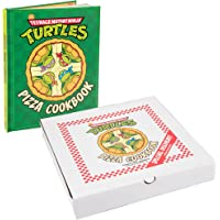 Limited Edition Teenage Mutant Ninja Turtles Pizza Cookbook with Exclusive Gift Box - Includes 65 TMNT Pizza Recipes