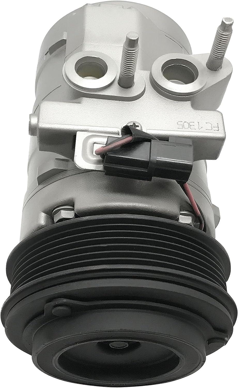 RYC Remanufactured AC Compressor and A//C Clutch FG189