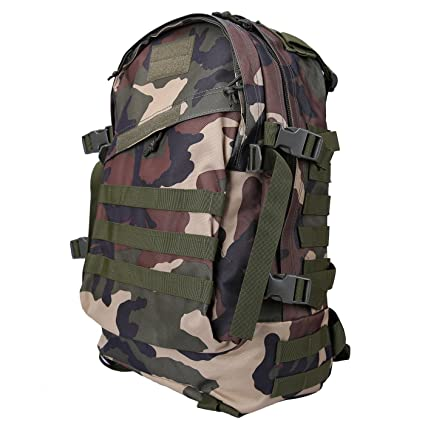 a3c66c51a1 HDE Military Tactical Assault Army Backpack Rucksack 35L Molle Bug Out  Daypack Bag for Camping Hiking