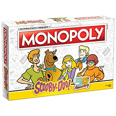 Monopoly Scooby-Doo! Board Game | Collectible Monopoly Game | Officially Licensed Scooby-Doo! Game | Featuring Character Artwork and Episodes: Toys & Games