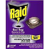Raid Bed Bug Detector & Trap, 8 ct