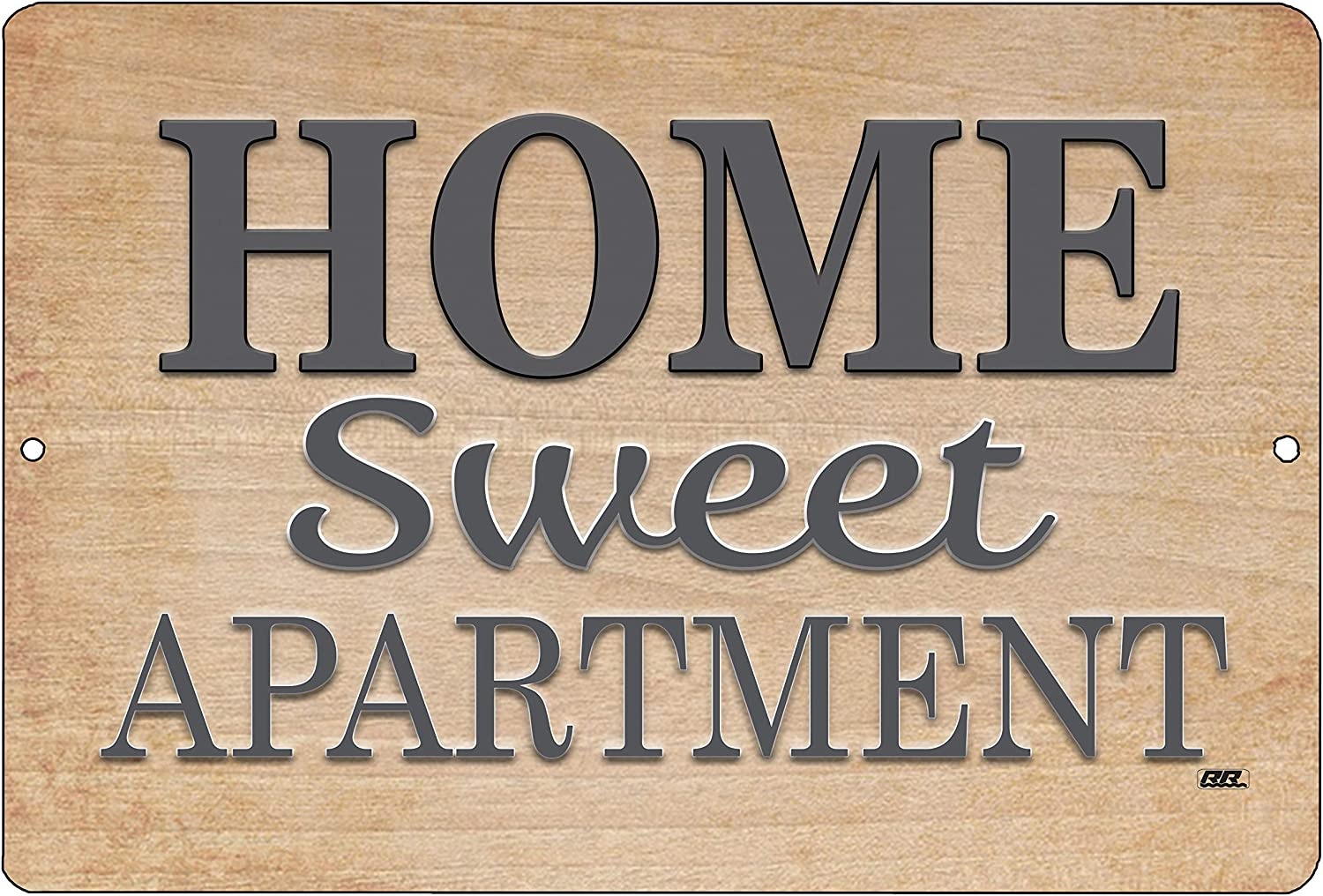 Rogue River Tactical Funny Sarcastic Home Sweet Apartment Metal Tin Sign Wall Decor Picture Poster Art