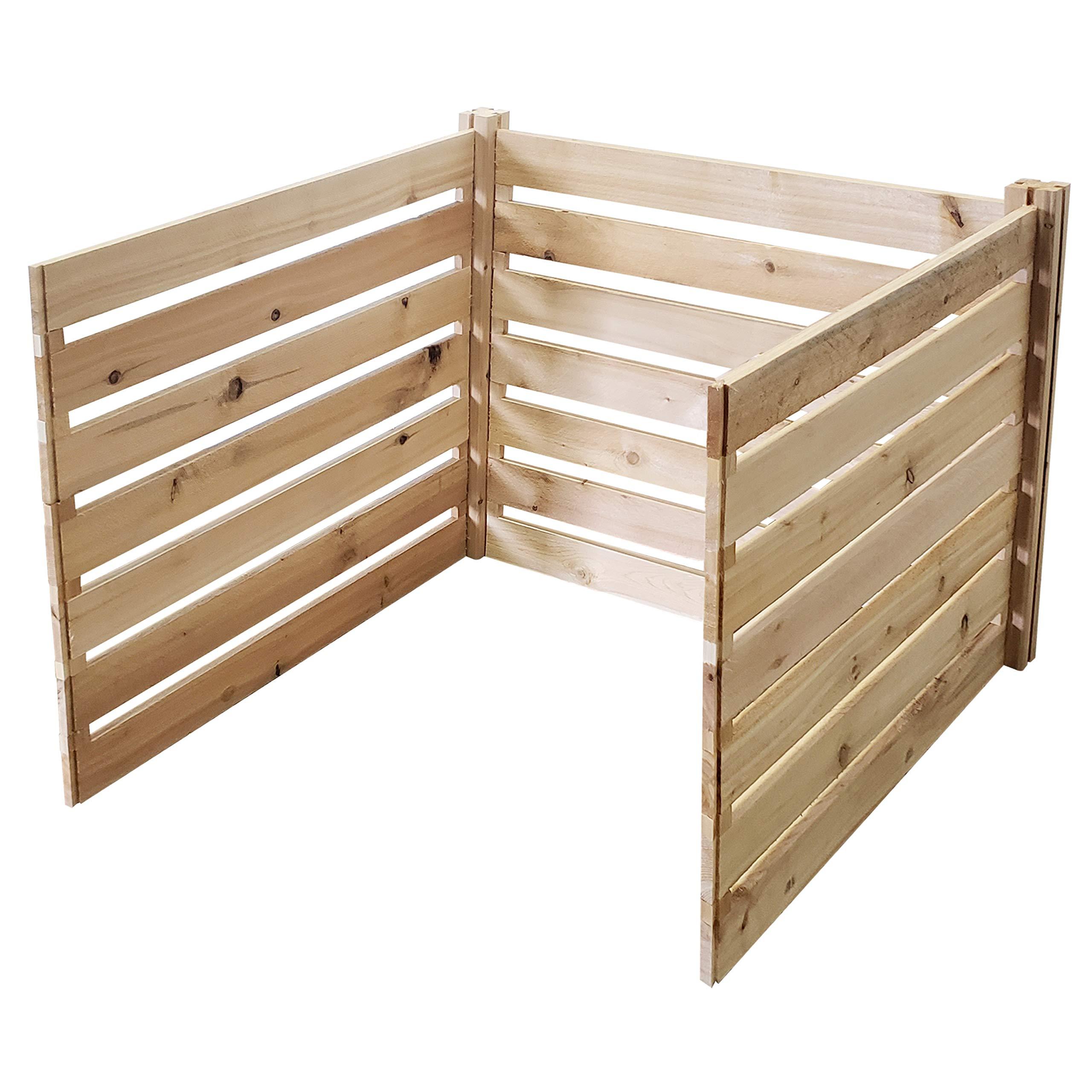 Greenes Fence RCCOMP36ADK Cedar Wood Composter Add-On Kit, 36'' L x 36'' W x 31'' H / 173.92 gallons by Greenes Fence