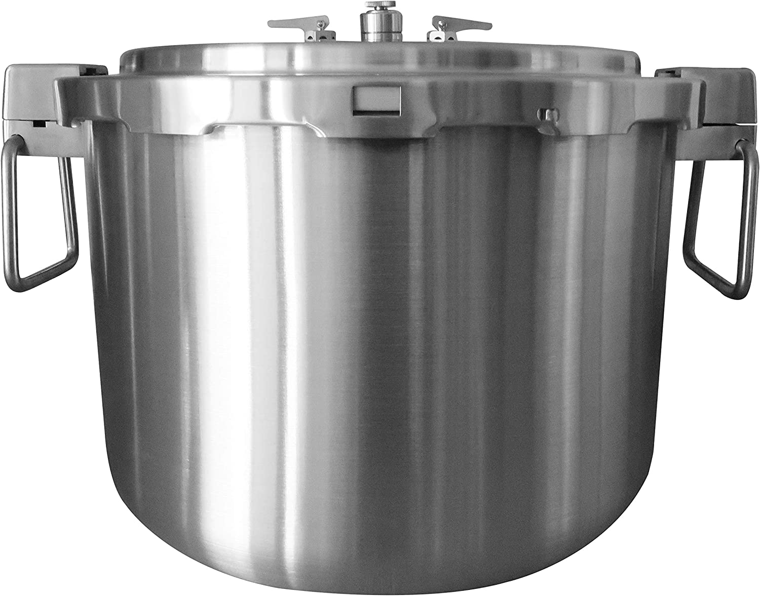 Buffalo QCP435 37-Quart Stainless Steel Pressure Cooker [Commercial series]- Pressure Gauge EXCLUDED