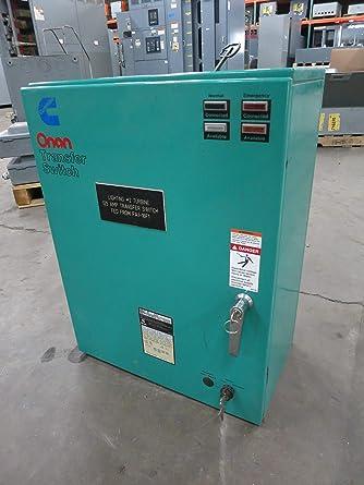 onan 125a 480v 306 3487 06 ot125 automatic transfer switch