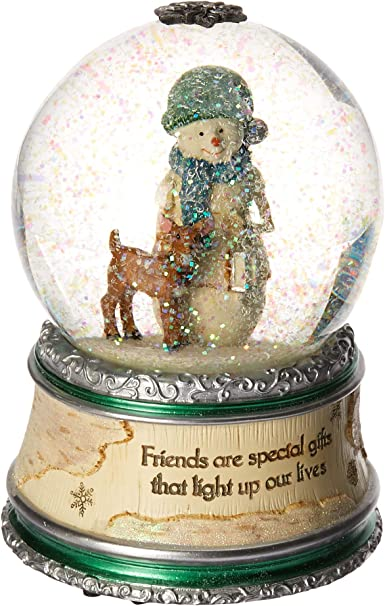 6-Inch Pavilion Gift Company Country Soul 29018 100mm Musical Water Globe Mom
