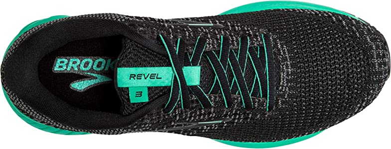 Brooks Revel 3 Negro Verde Mujer 1203021B023: Amazon.es: Deportes y aire libre