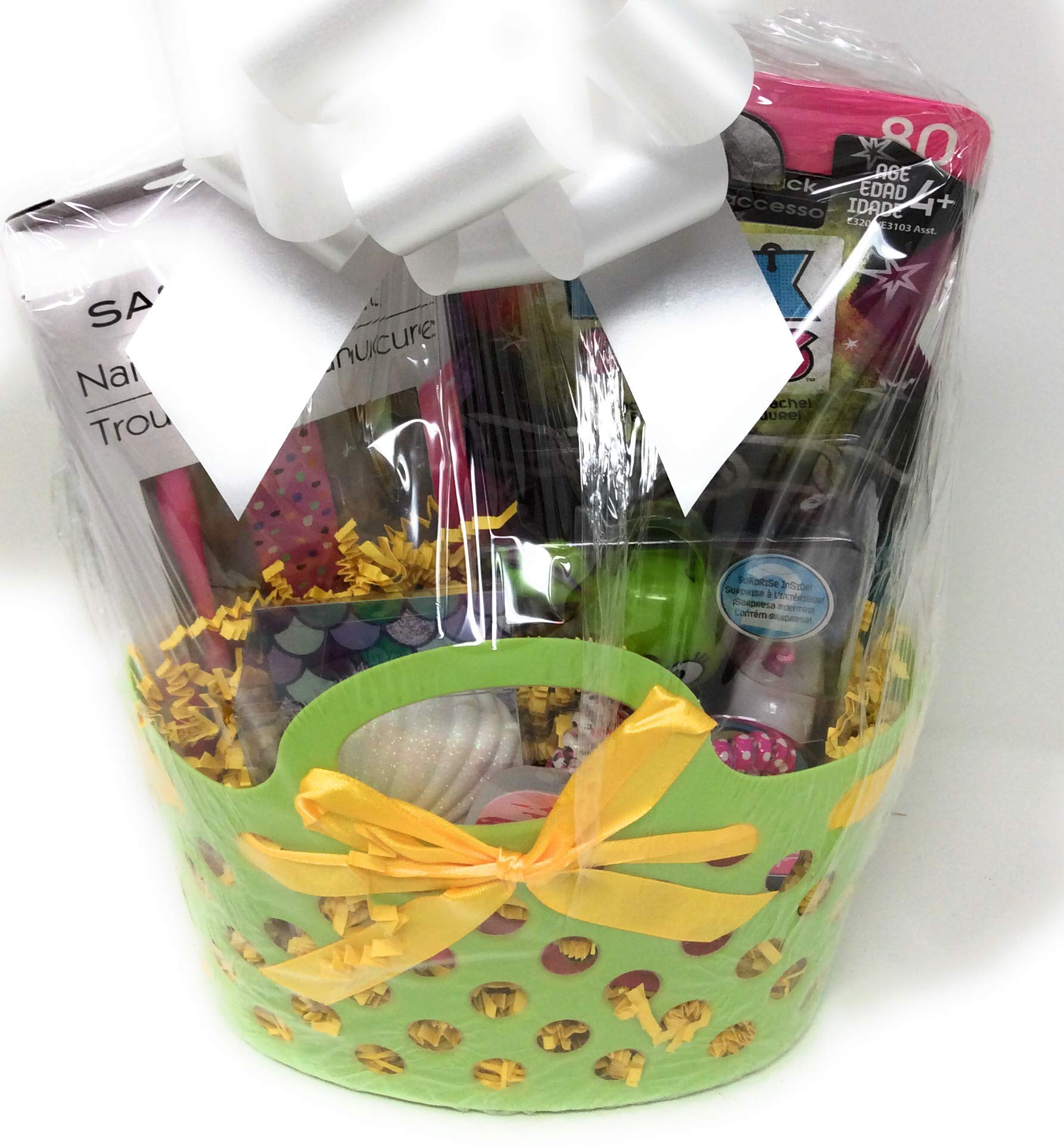 Happy Easter Birthday Basket Kids Toddlers Gift Children Party Fun Assorted Pre Made Baskets -Dress Up GSB by Easter and Birthday Basket