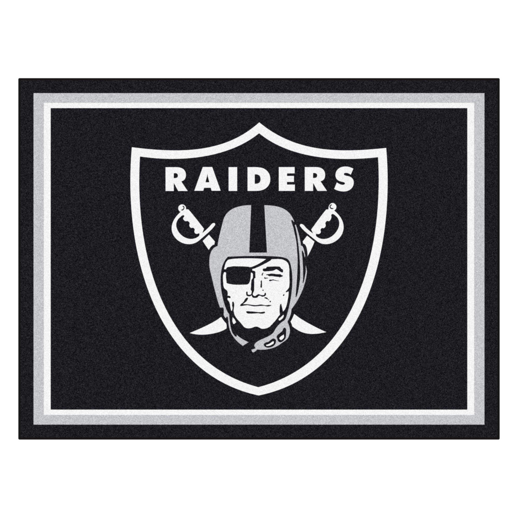 FANMATS 17493 NFL Oakland Raiders Rug