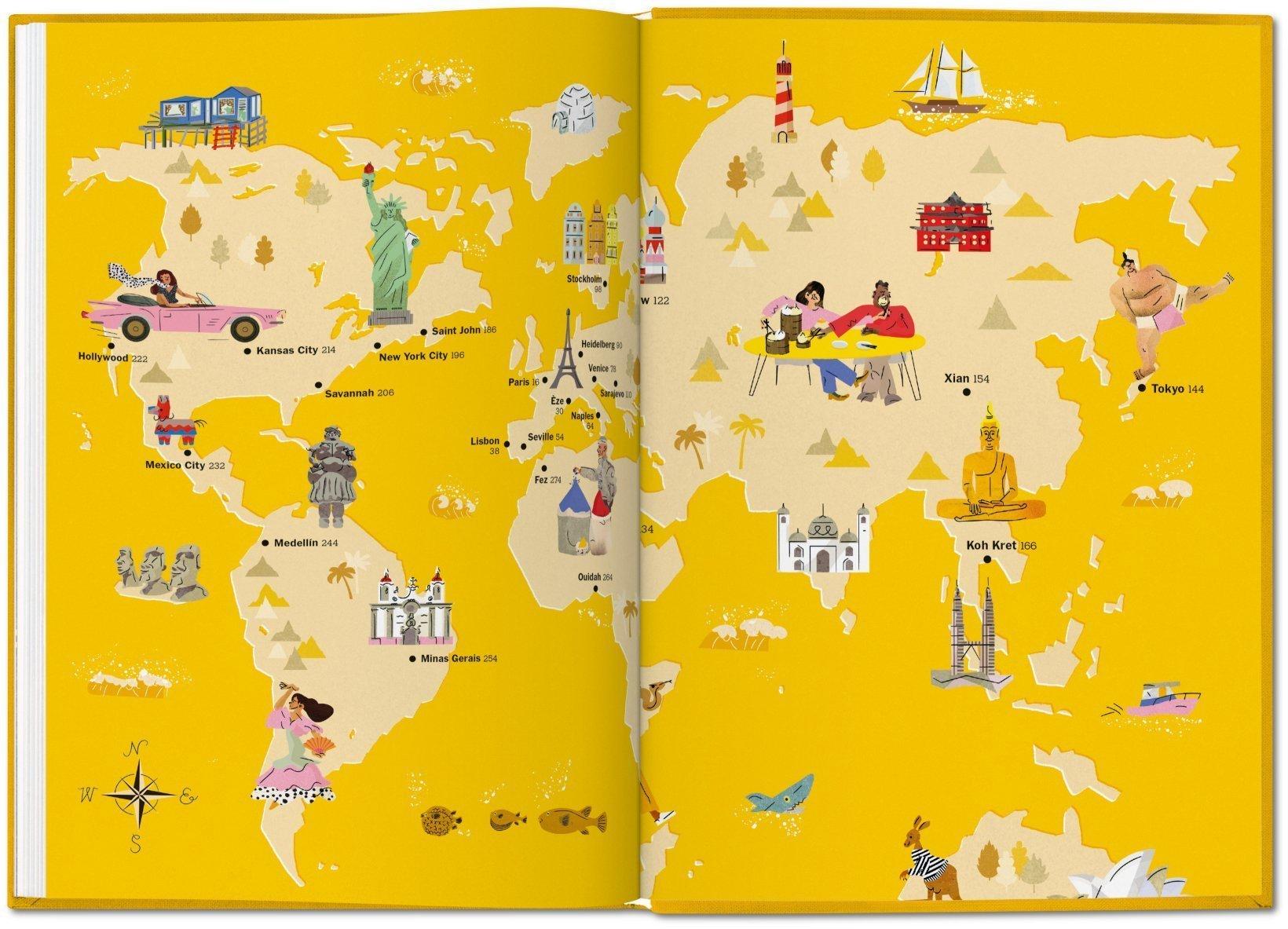 NYT Explorer. Cities & Towns by TASCHEN