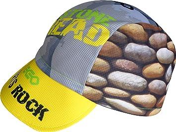 Gorra de Running y Trailrunning EKEKO STONEHEAD, Gorra diseñada especificamente para el Running y el Trail. (Amarilla): Amazon.es: Deportes y aire libre