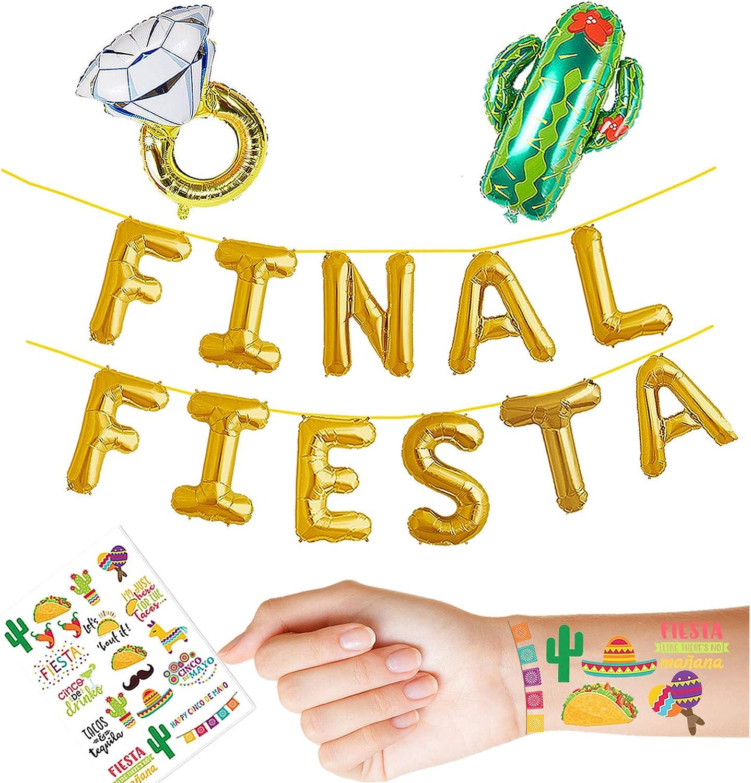Engagement Party Nacho Average Party Banner Cinco de Mayo Party Bachelorette Banner Cactus Theme Banner Fiesta Party Decorations