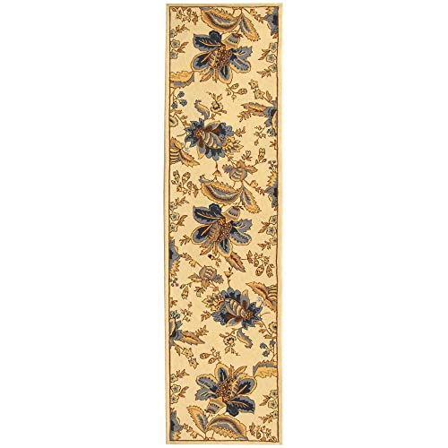 Safavieh Chelsea Collection HK309A Hand-Hooked Ivory Premium Wool Runner 2 6 x 6