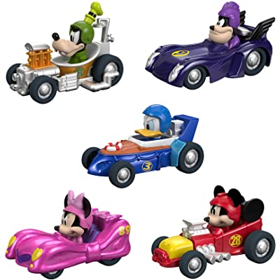 Fisher-Price Disney Mickey & the Roadster Racers, Hot Rod 5-Pack [ Exclusive]: Toys & Games