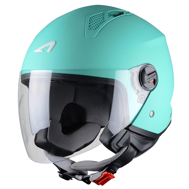 Astone Mini-Jet Casco, Army Matt, XL Astone Helmets Distribution MINIM-ARMYXL