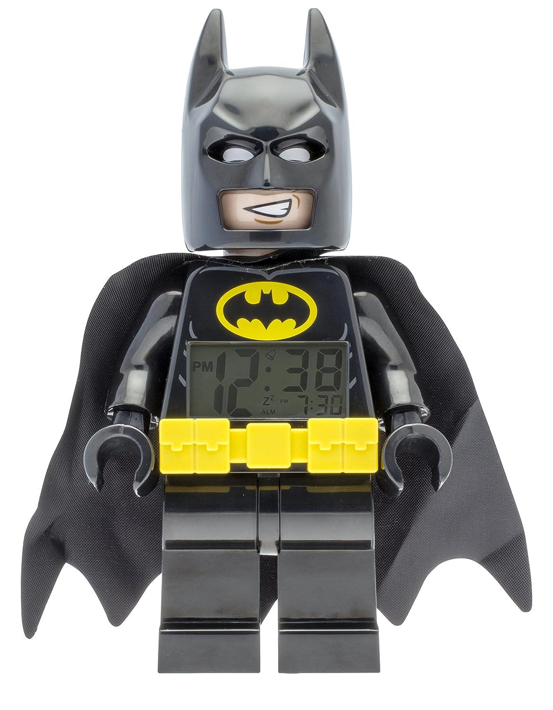 Lego Movie Batman Minifigure Clock, 14 x 14 x 23.5 cm ClicTime 9009327