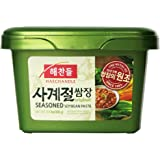 Haechandle Seasoned Soybean Paste 1.1 Lb. (500g) Tub