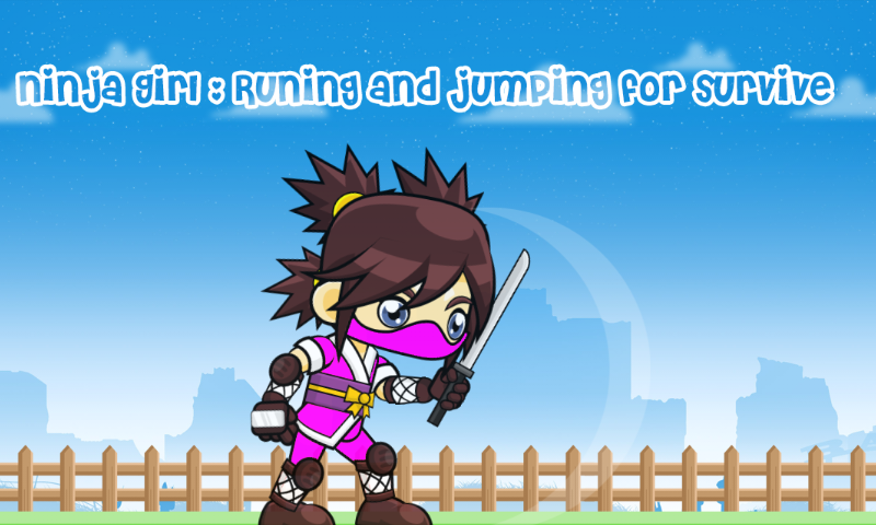 Ninja Girl : Runing And jumping For Survive: Amazon.es ...