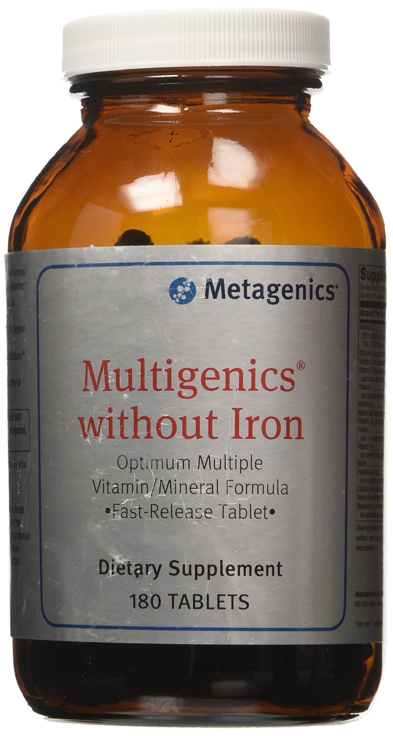 Metagenics - Multigenics without Iron - 180 Tablets