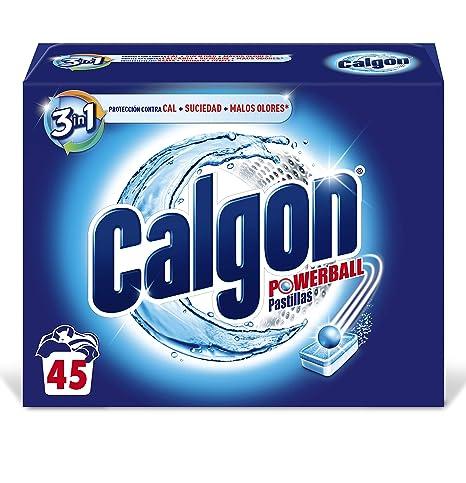 Calgon Antical 45uds, 45 Pastillas: Amazon.es: Salud y cuidado ...