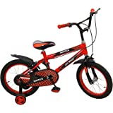 Sintex Sports BMX Kids Cycle for Boys & Girls 16T - Age Group 3-6 Years semi Assembled with tyre and Tube