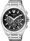 Citizen Super Titanium - Reloj de cuarzo para hombre, correa de titanio color plateado