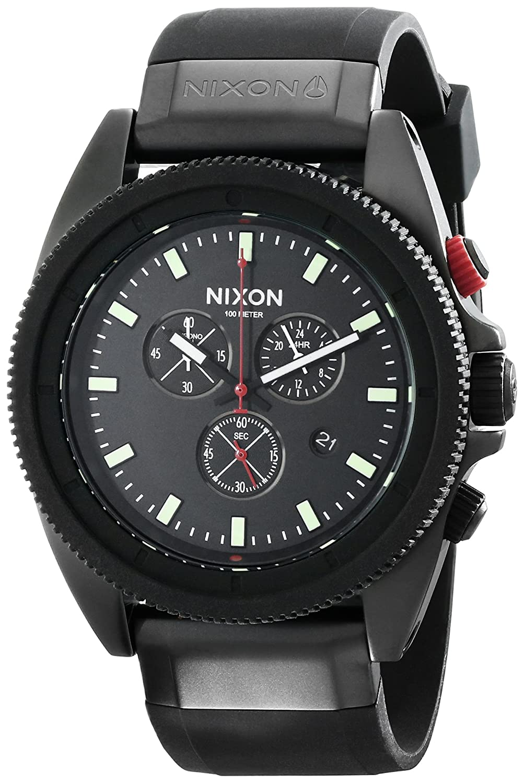 de864e0c7 Nixon Men's A290760 Rover Chrono Watch: Nixon: Amazon.co.uk: Watches