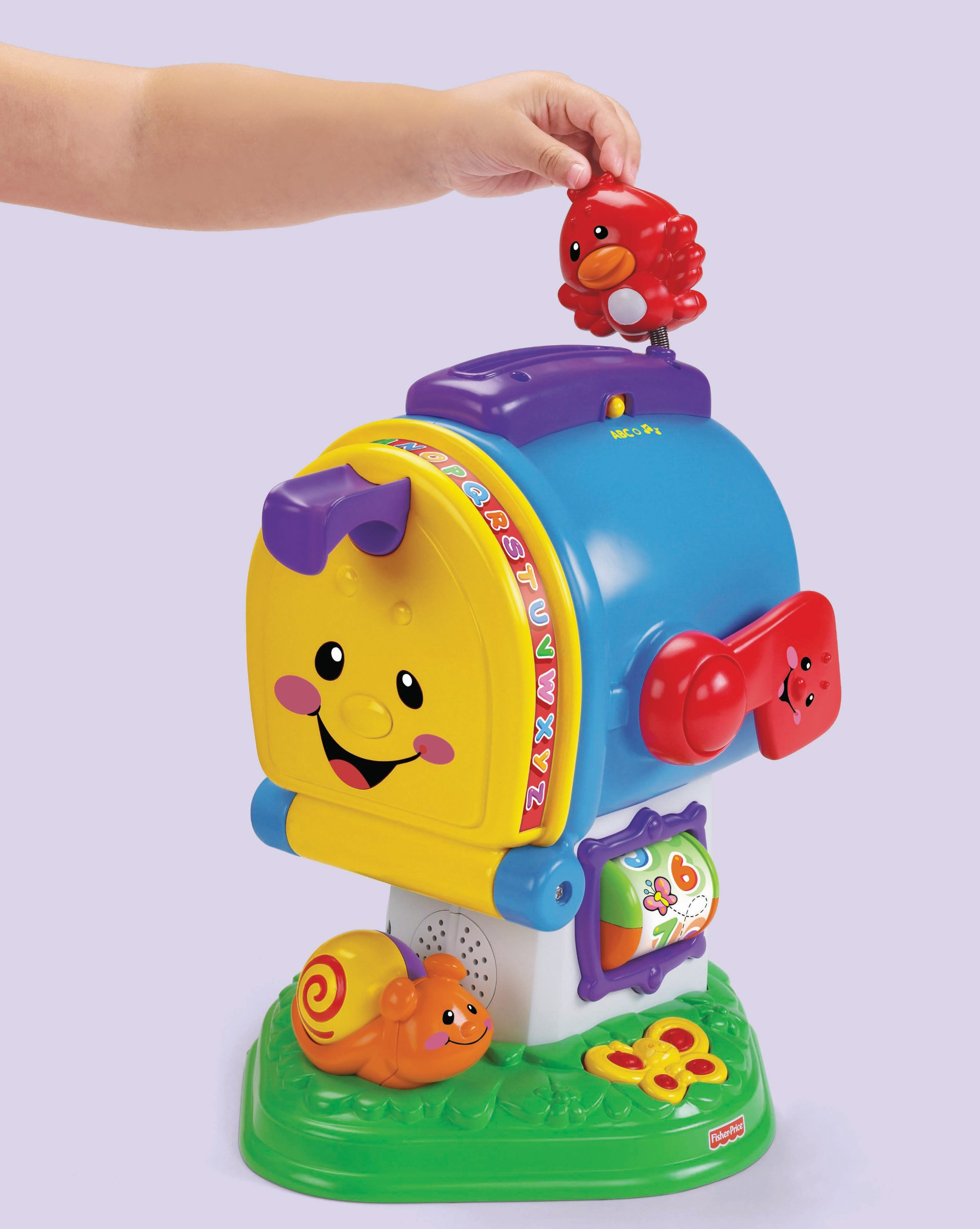 Fisher-Price Laugh & Learning Letters Mailbox by Fisher-Price (Image #9)
