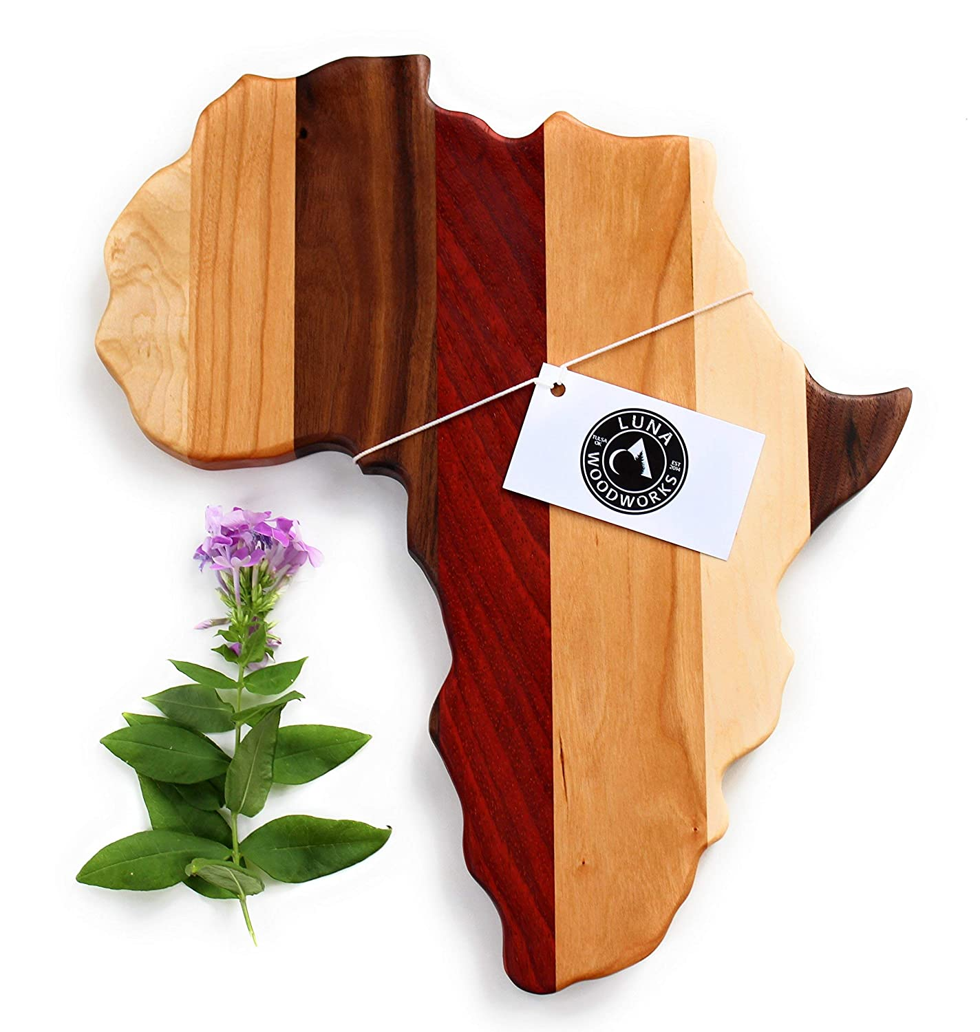 Amazon Com Africa Cutting Board Gift Wood Wall Art Personalized