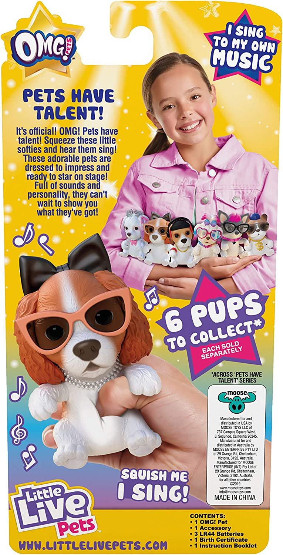 Little Live OMG Pets Have Talent Single Pack DJ Pup