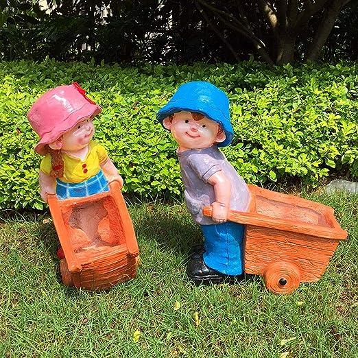 Figurines para jardín, Jardín de esculturas al aire libre ...