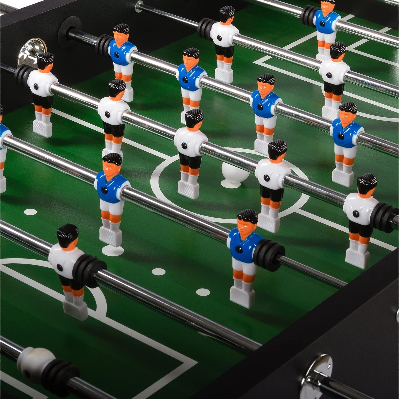 8 unidades jugador Barras telescópico de 15.9 mm para futbolín ...