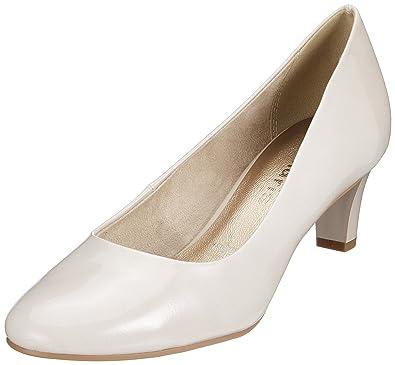 fr 22493 bout à Chaussures Amazon blanc Tamaris fermé Femme 0Fqtx1T