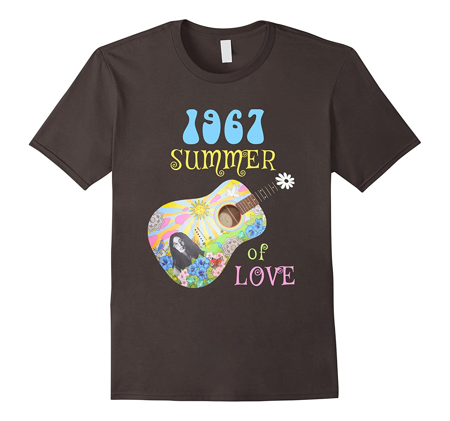 1967 Summer of Love Hippie T-shirt-RT